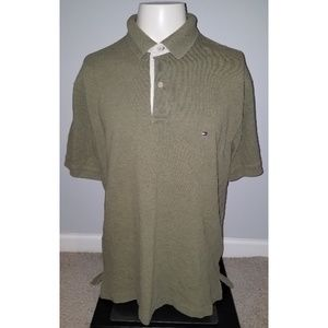 Tommy Hilfiger Short Sleeve Golf Polo Shirt (L)